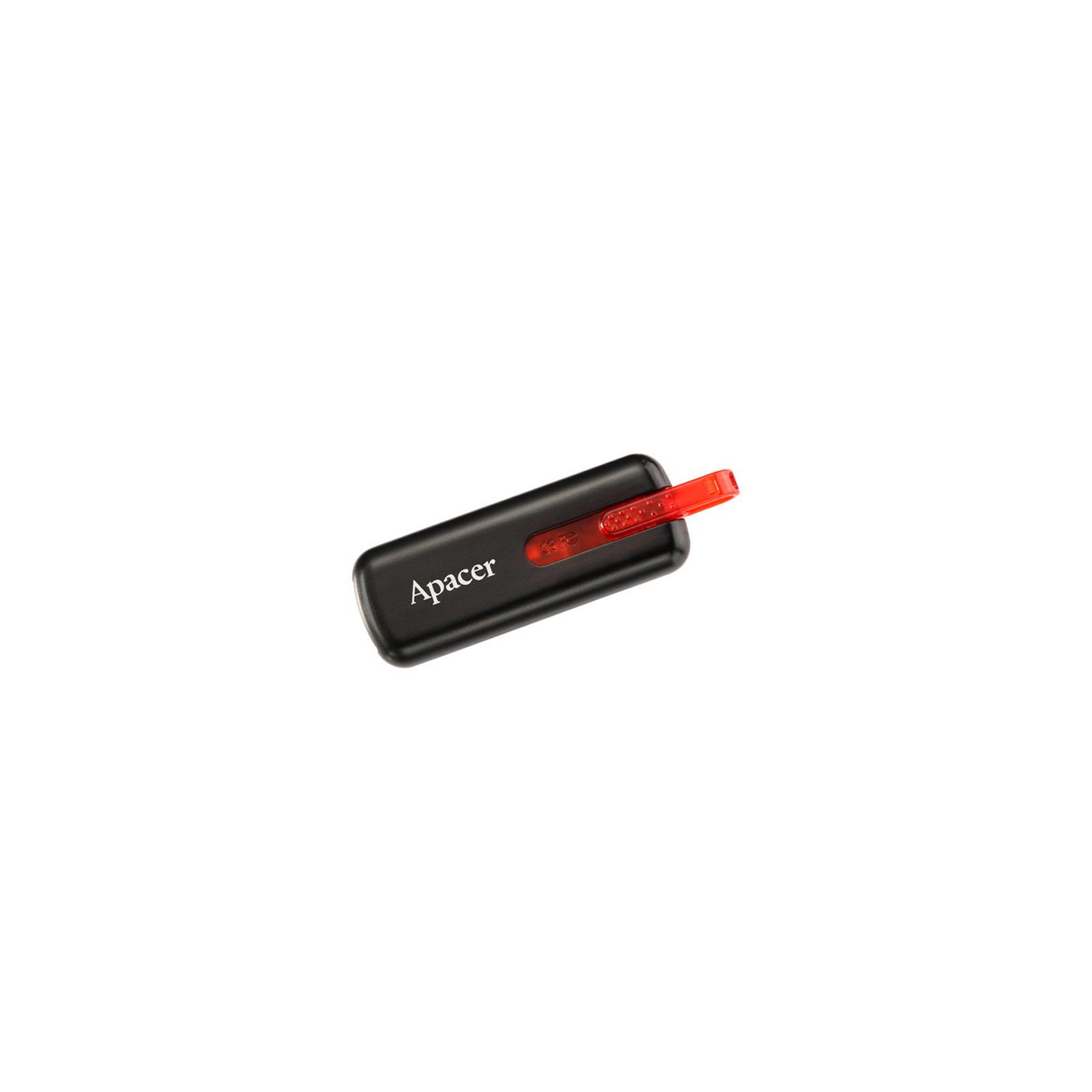 USB флеш накопитель Handy Steno AH326 black Apacer (AP8GAH326B-1) изображение 8