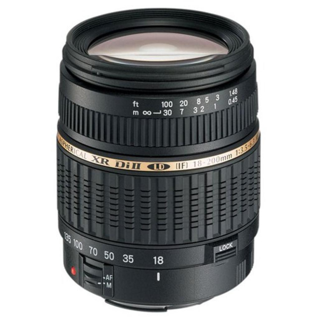 Объектив AF 18-200mm f/3.5-6.3 XR Di II LD Asp. (IF) macro for Canon Tamron (AF 18-200mm for Canon)