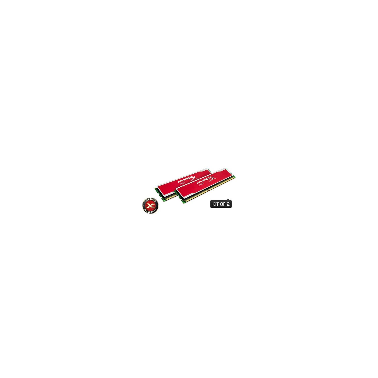 Модуль памяти для компьютера DDR3 8GB (2x4GB) 1600 MHz Kingston (KHX1600C9D3B1RK2/8GX)