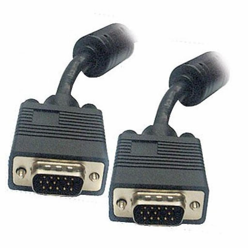 Кабель мультимедийный VGA 5.0m Viewcon (VM 015-5м.)
