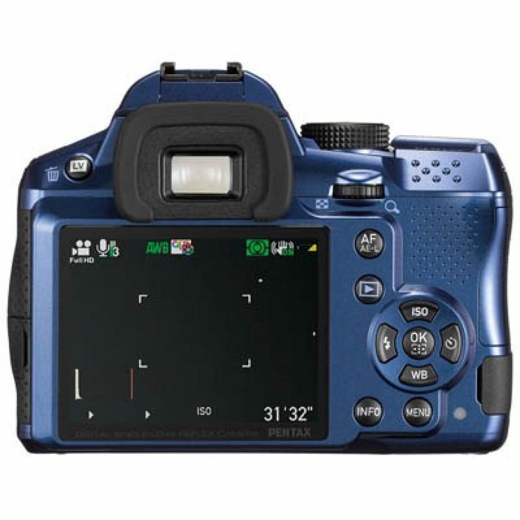 Цифровой фотоаппарат Pentax K-30 + DA L 18-55mm blue (15757) изображение 2