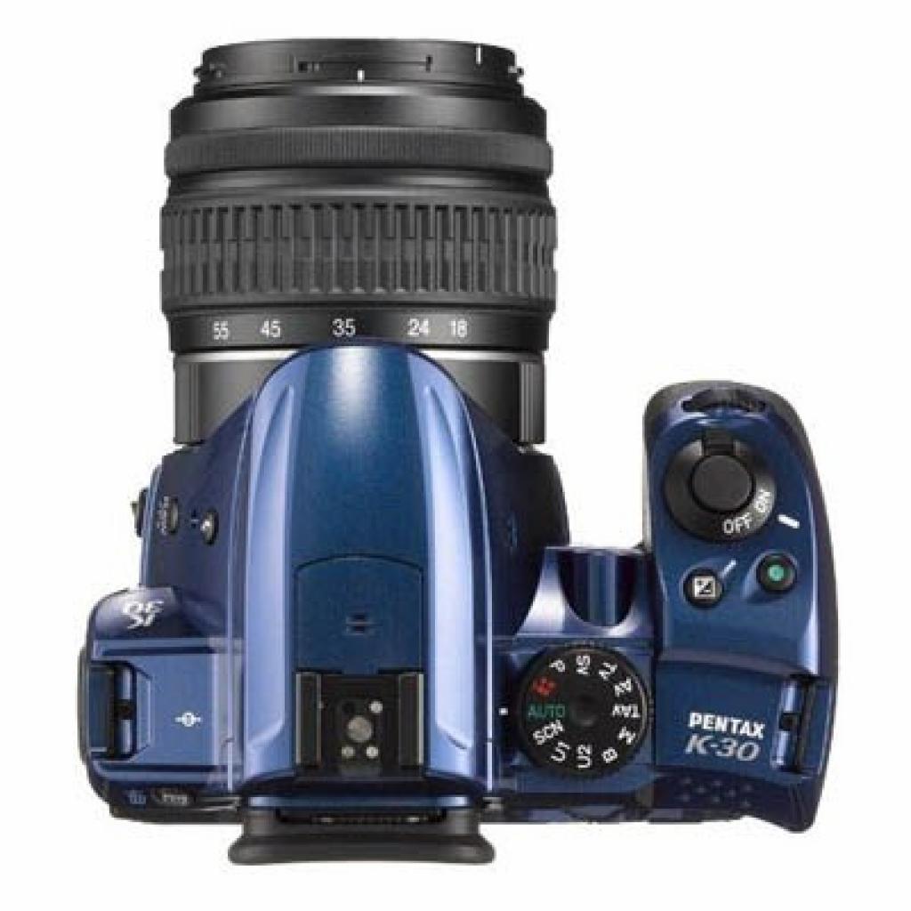 Цифровой фотоаппарат Pentax K-30 + DA L 18-55mm blue (15757) изображение 3