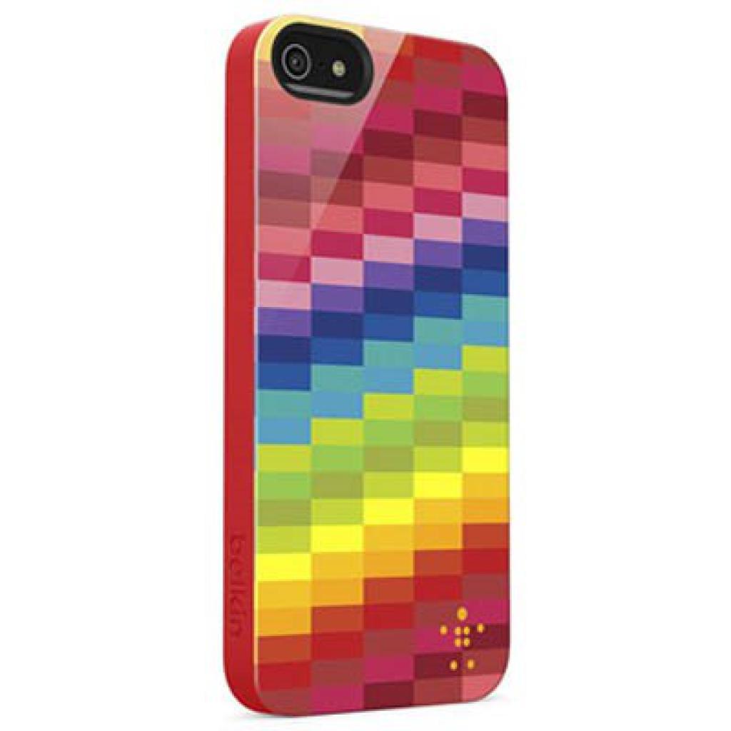 Чехол для моб. телефона Belkin iPhone 5/5s Shield Pixel multicolor (F8W122vfC00)