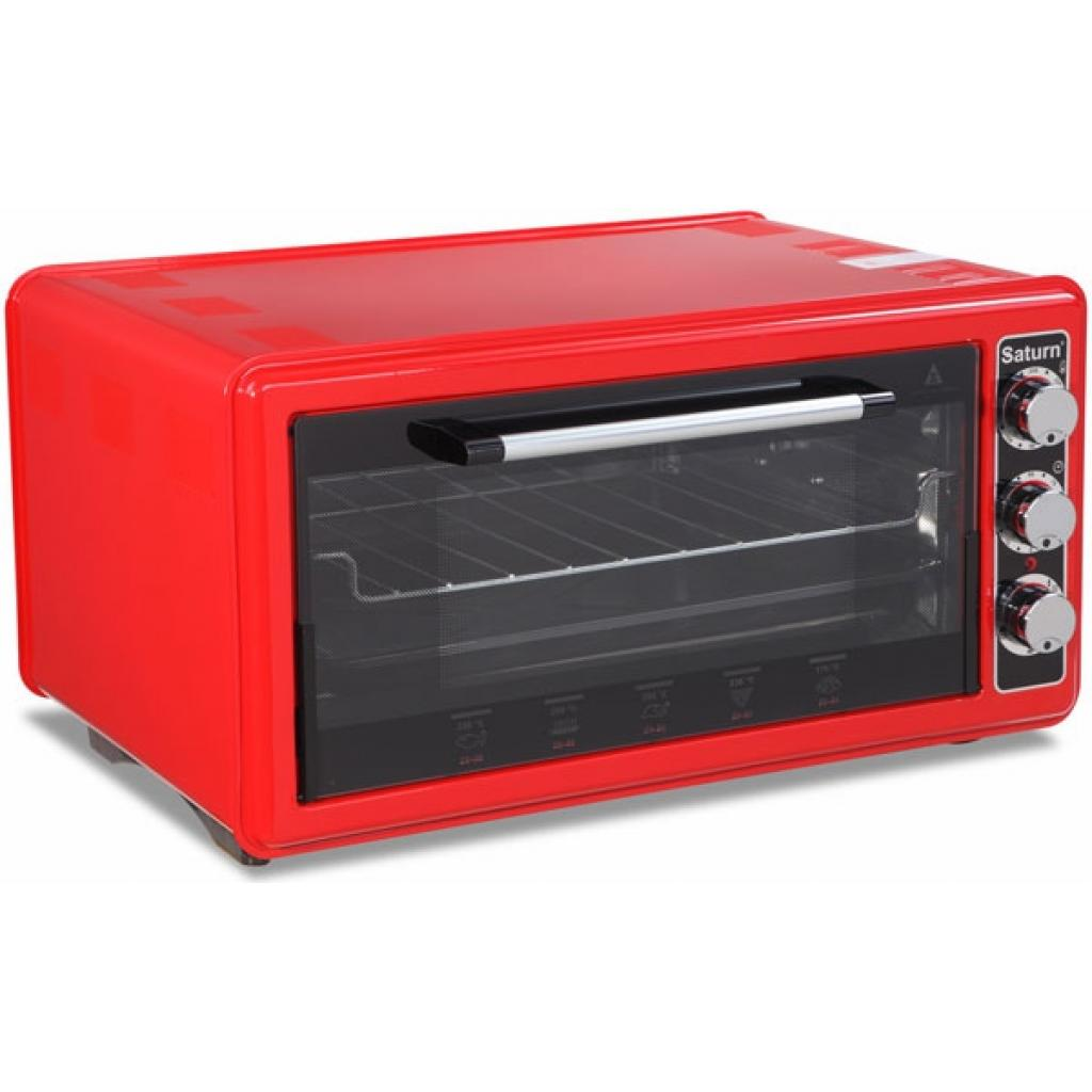 Электропечь SATURN ST-EC1077 Red