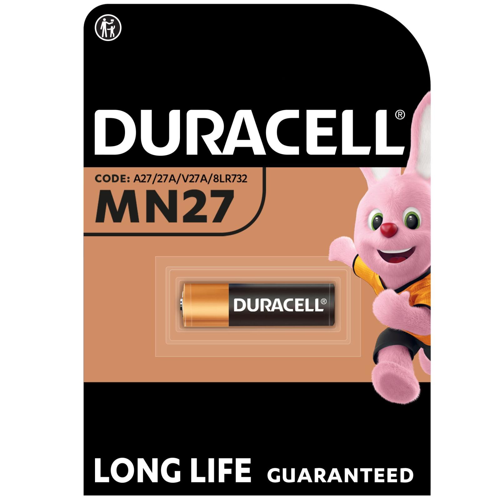 Батарейка Duracell MN27 A27 (5000394023352 / 81488674)