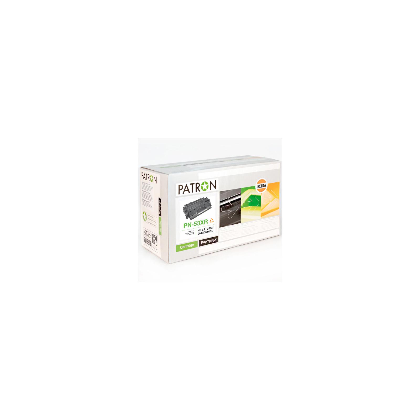 Картридж PATRON HP LJP2015/P2014 /Q7553X (PN-53XR) Extra (CT-HP-Q7553X-PN-R)