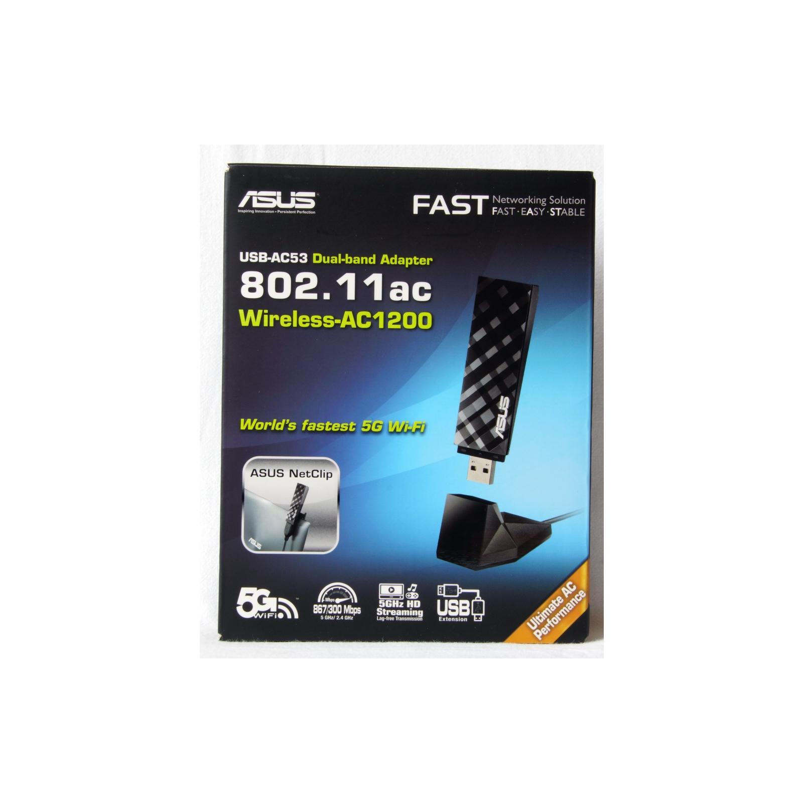 Сетевая карта Wi-Fi ASUS USB-AC53 изображение 8