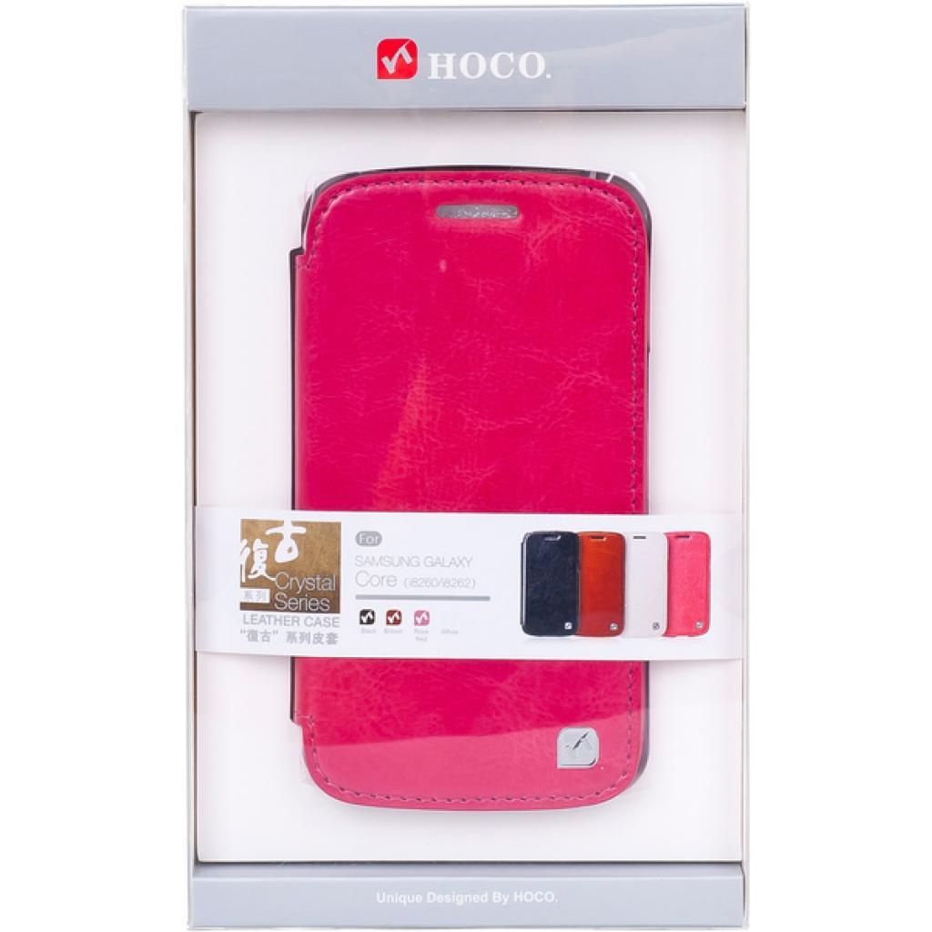 Чехол для моб. телефона HOCO для Samsung I8262 Galaxy Core Duos-Crystal s (HS-L065 Rose Red)