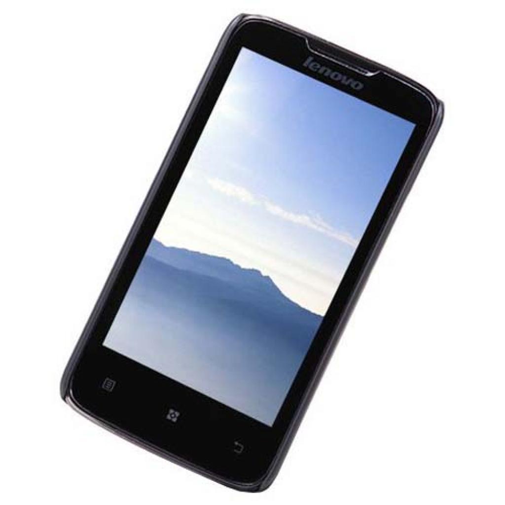 Чехол для моб. телефона NILLKIN для Lenovo A820 /Super Frosted Shield/Black (6100793) изображение 2