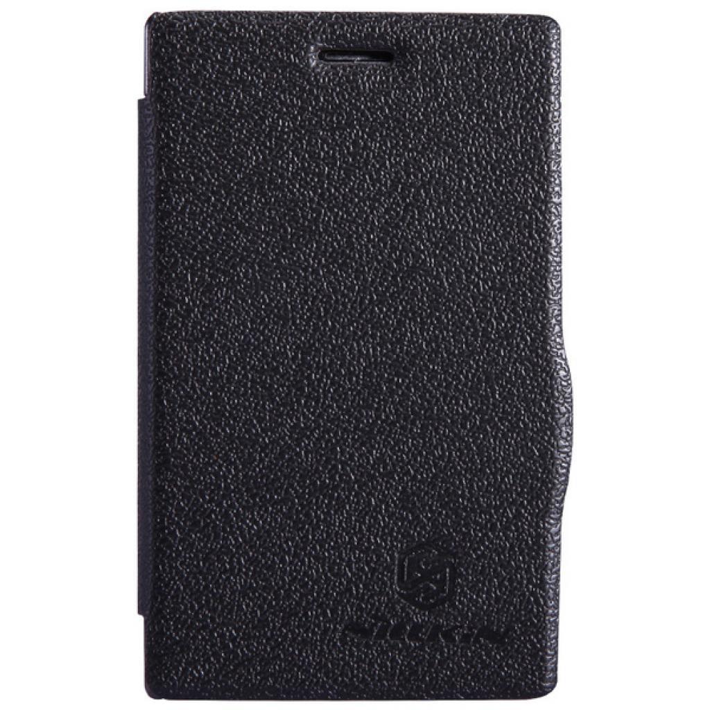 Чехол для моб. телефона NILLKIN для Nokia 502 /Fresh/ Leather/Black (6120396)