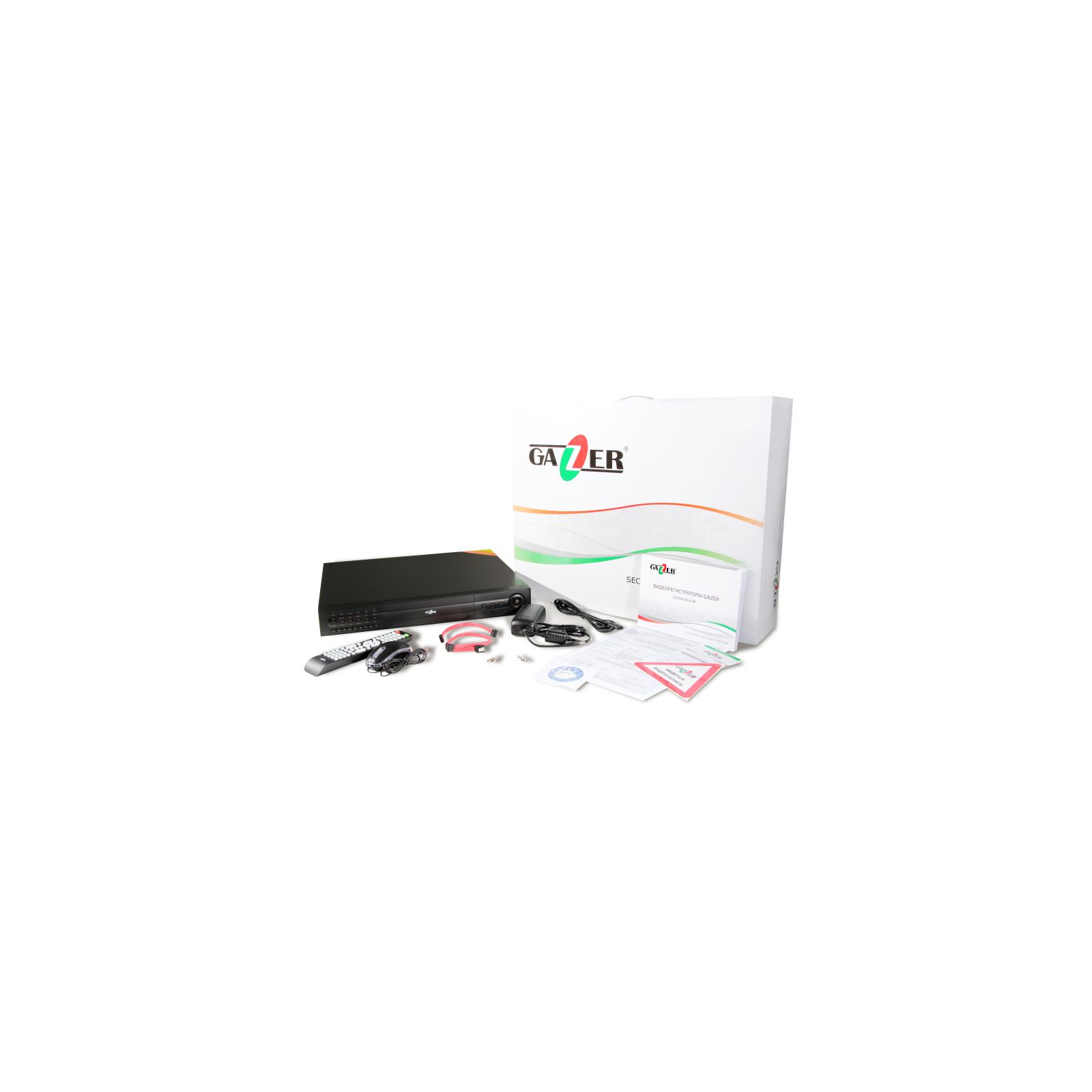 Регистратор для видеонаблюдения Gazer NS216r изображение 10