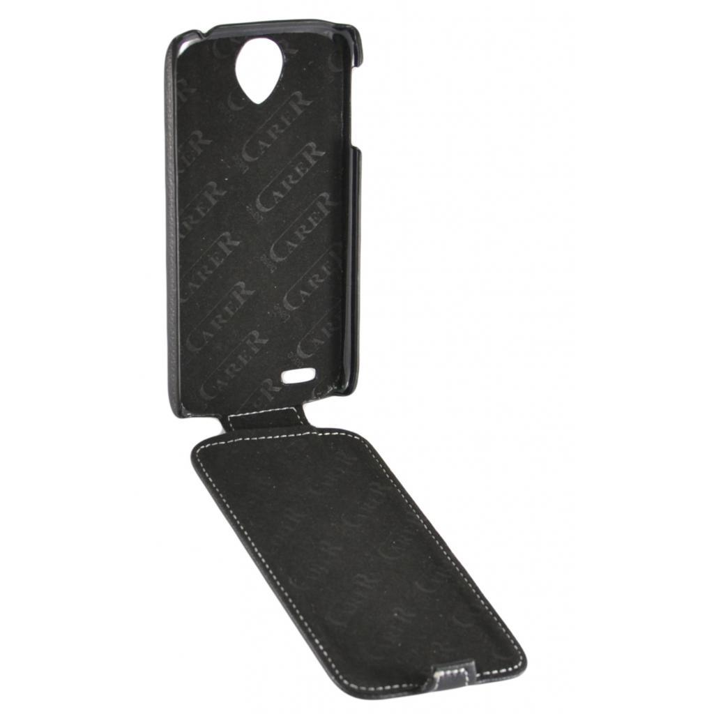 Чехол для моб. телефона Carer Base Lenovo S820 black (Carer Base lenovo S820 bl) изображение 3