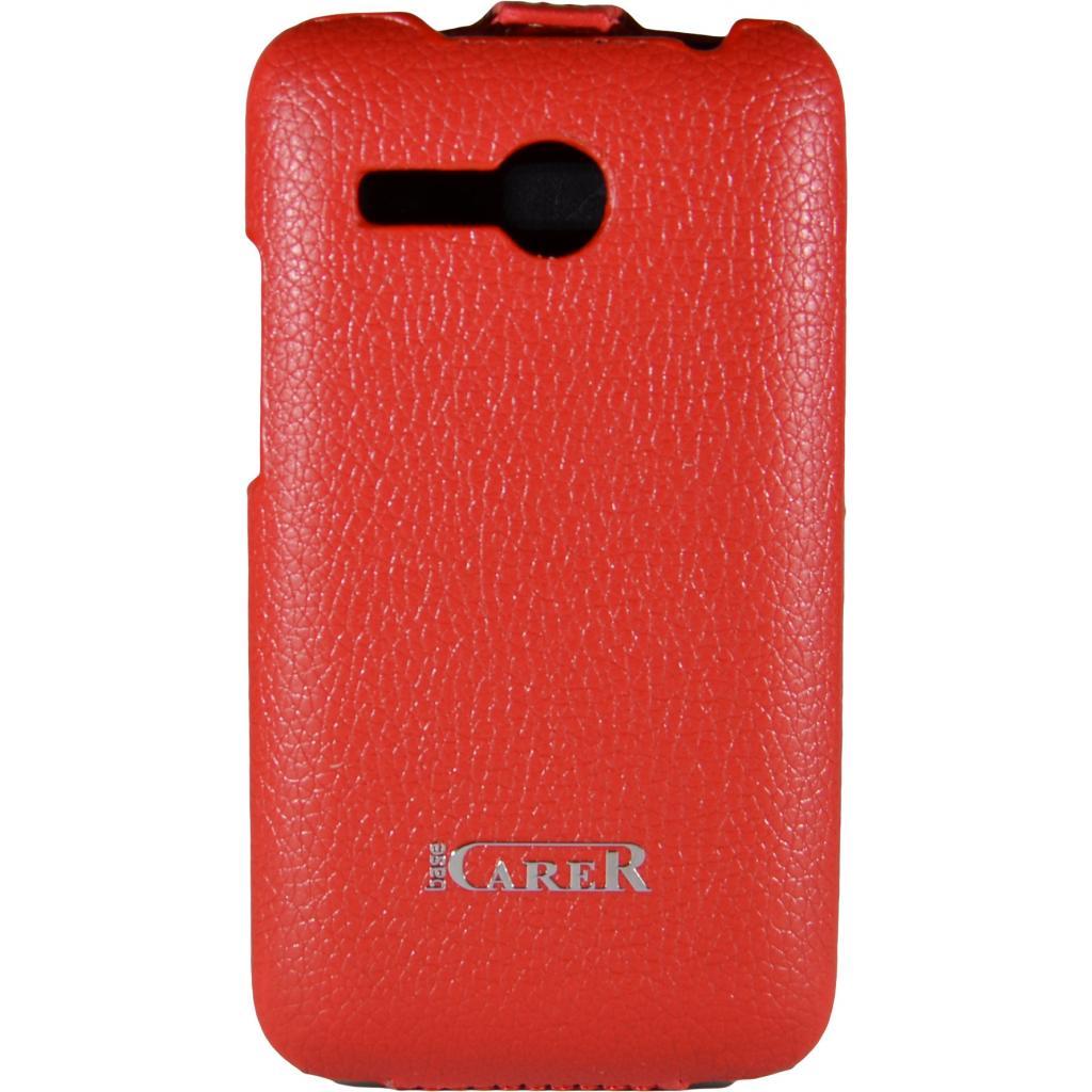 Чехол для моб. телефона Carer Base для Lenovo 316i red grid (Carer Base lenovo316ir gr) изображение 2