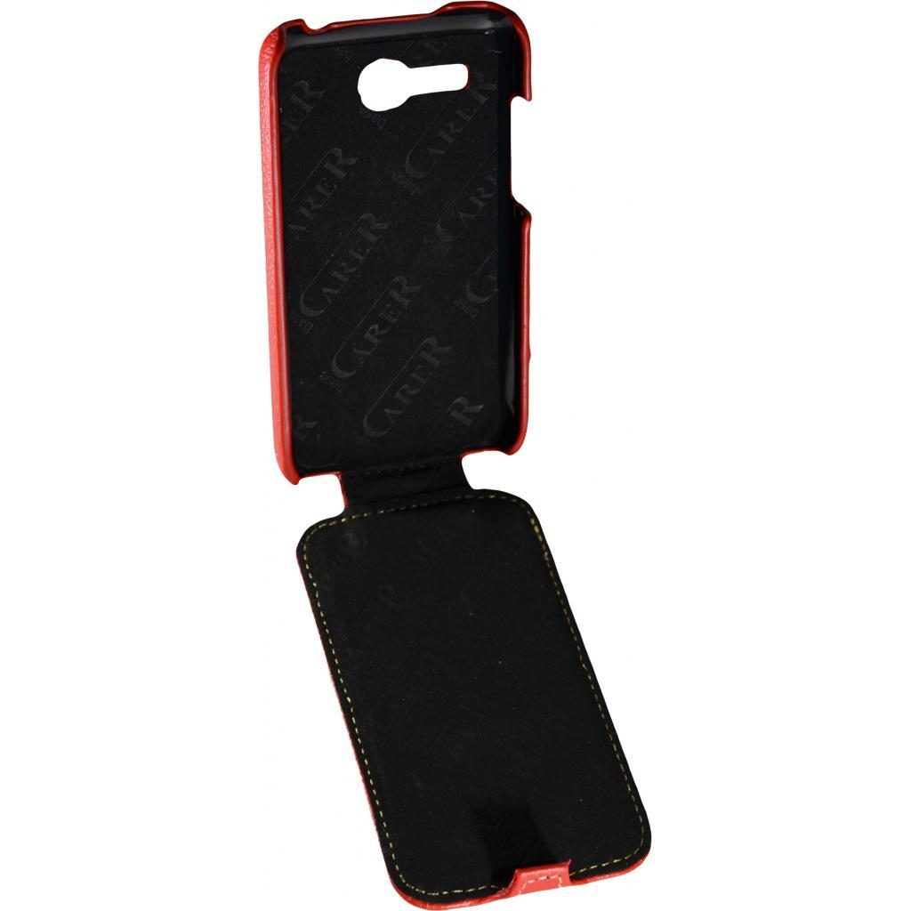 Чехол для моб. телефона Carer Base для Lenovo 316i red grid (Carer Base lenovo316ir gr) изображение 3