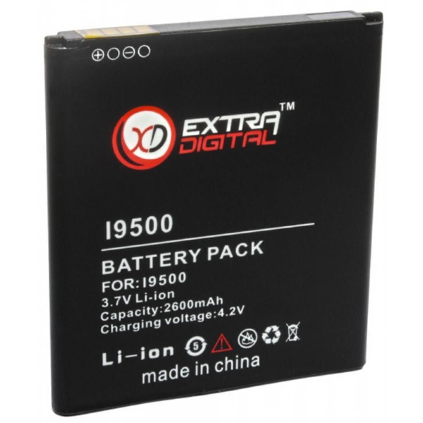 Аккумуляторная батарея EXTRADIGITAL Samsung GT-i9500 Galaxy S4 (BMS6315)