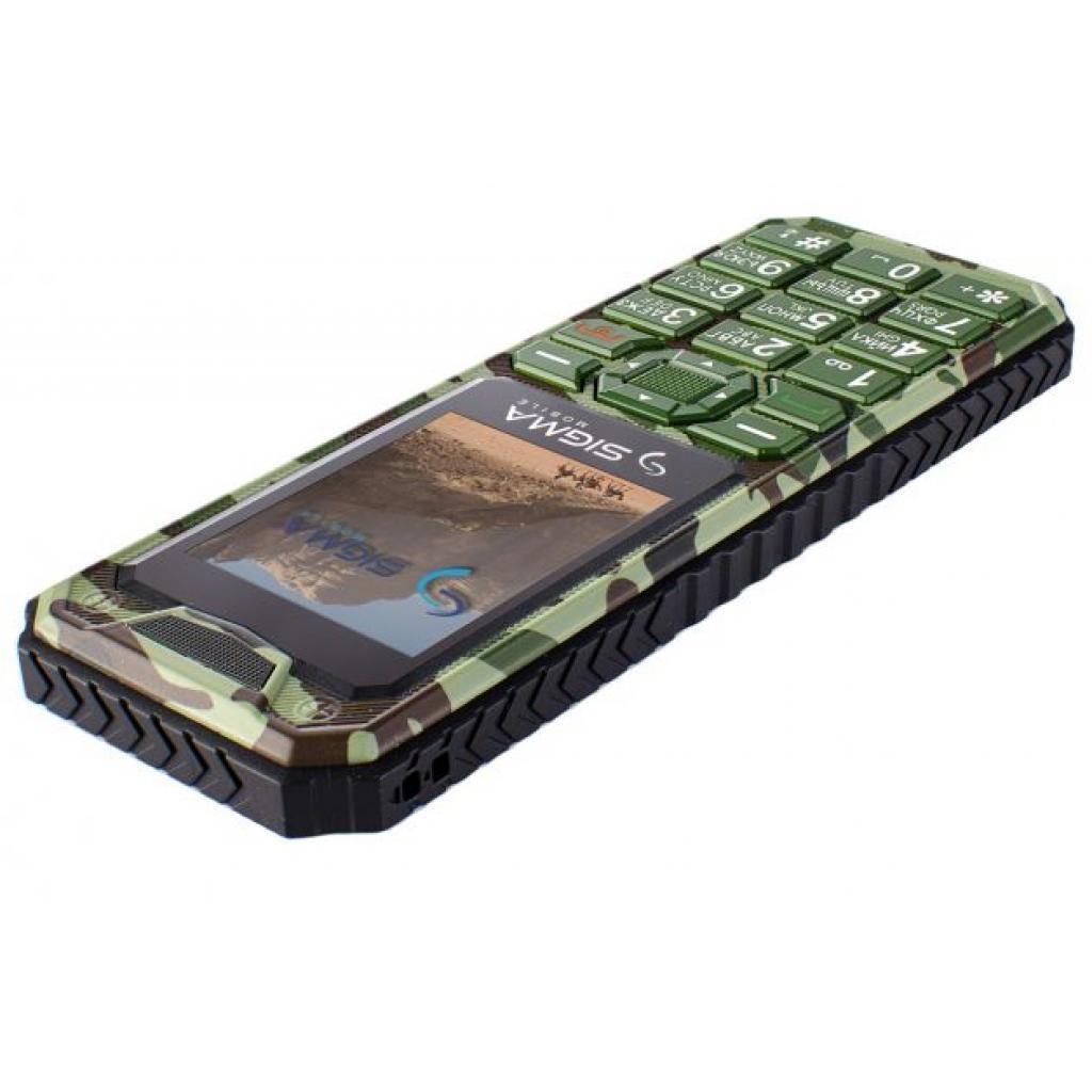 Мобильный телефон Sigma X-style 11 Dual Sim Green Camouflage (4827798327210) изображение 5