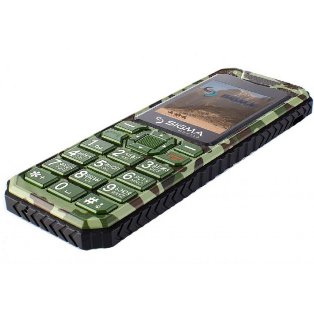 Мобильный телефон Sigma X-style 11 Dual Sim Green Camouflage (4827798327210) изображение 6