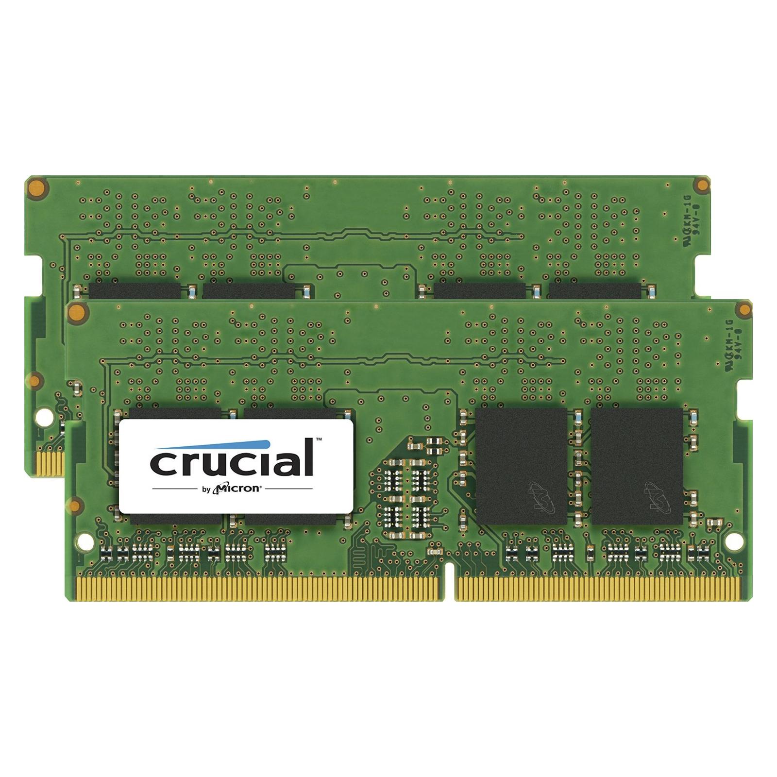 Модуль памяти для ноутбука SoDIMM DDR4 32GB (2x16GB) 2133 MHz MICRON (CT2K16G4SFD8213)