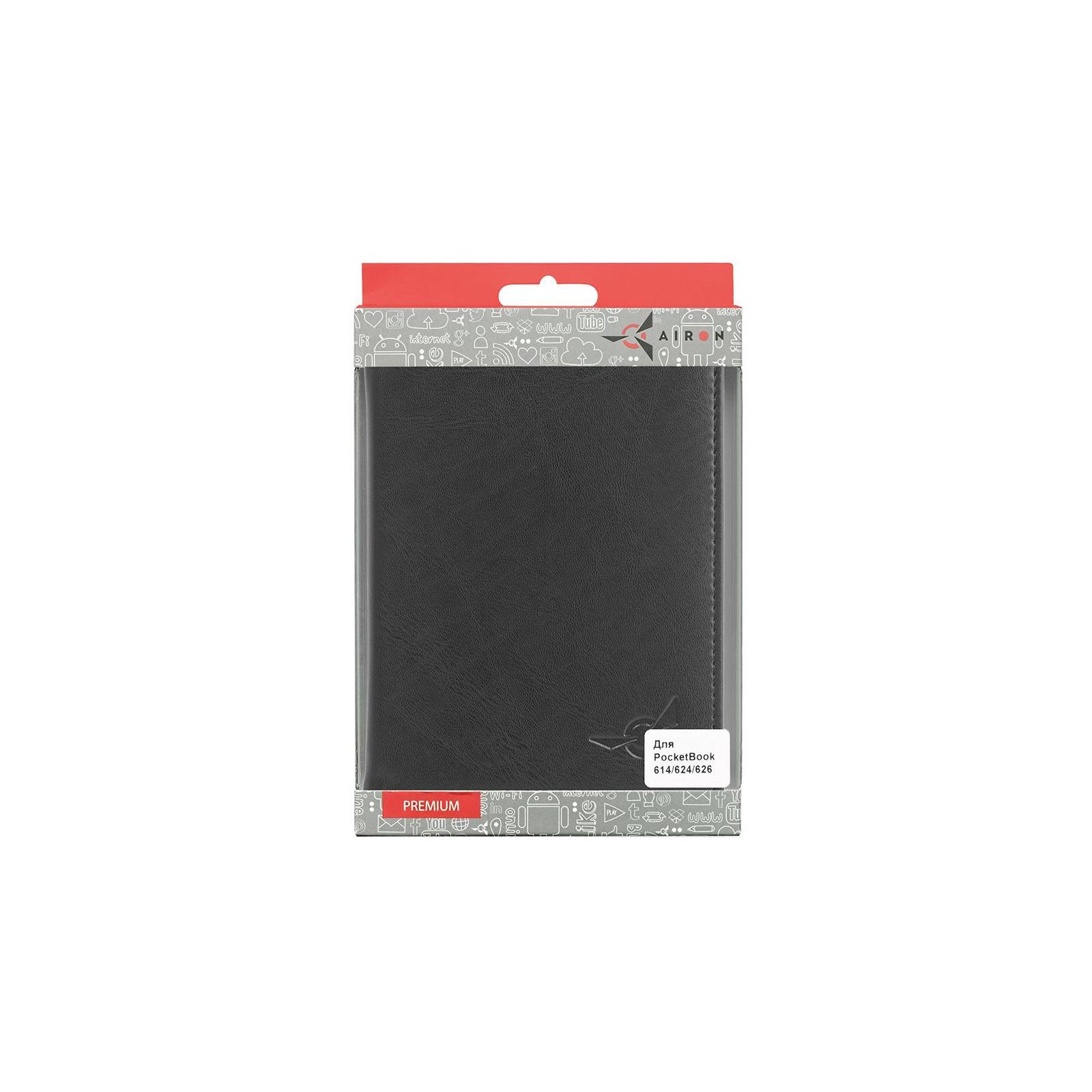 Чехол для электронной книги AirOn для PocketBook 614/624/626 (black) (6946795850137) изображение 3