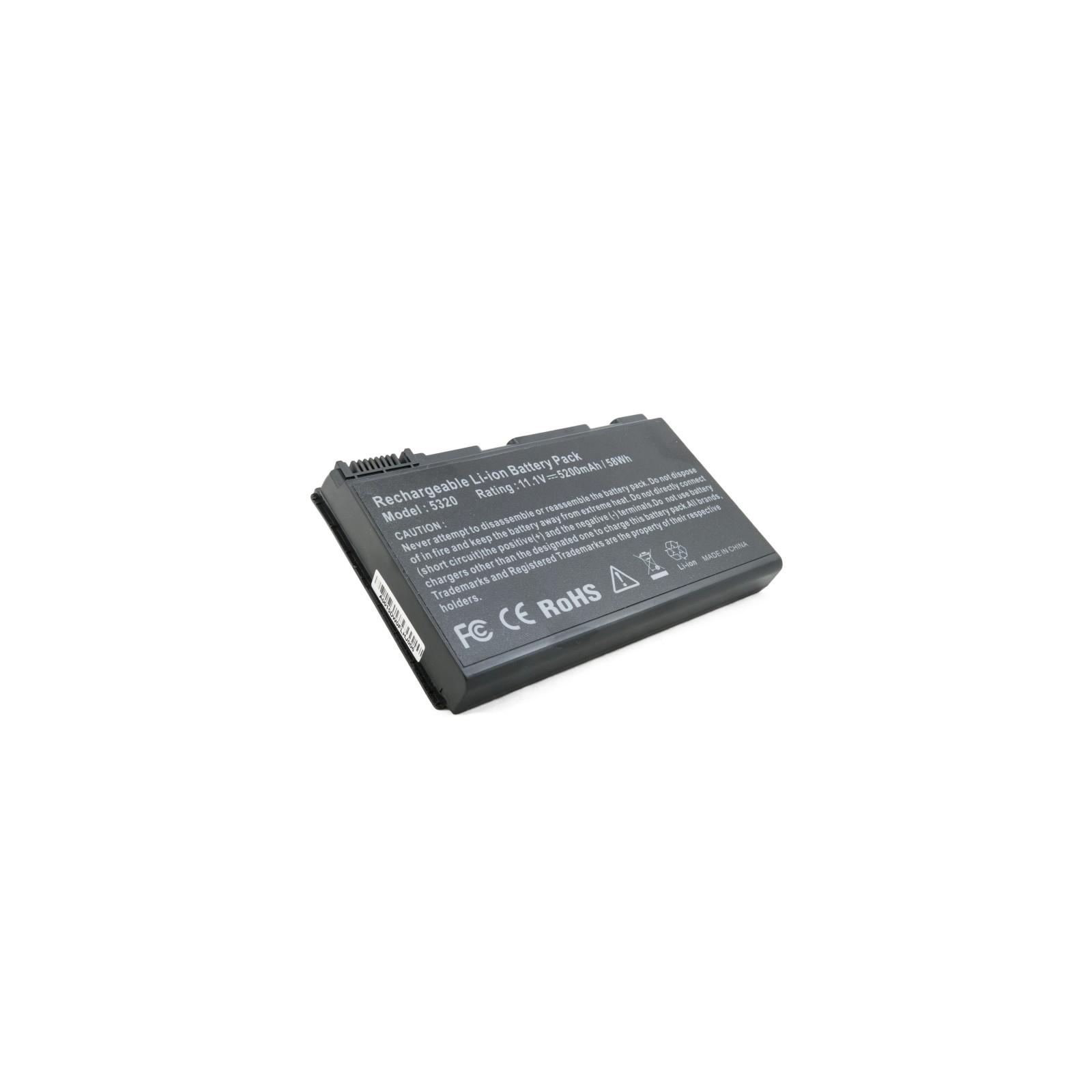 Аккумулятор для ноутбука Acer TravelMate 5320, 5200 mAh EXTRADIGITAL (BNA3909) изображение 5