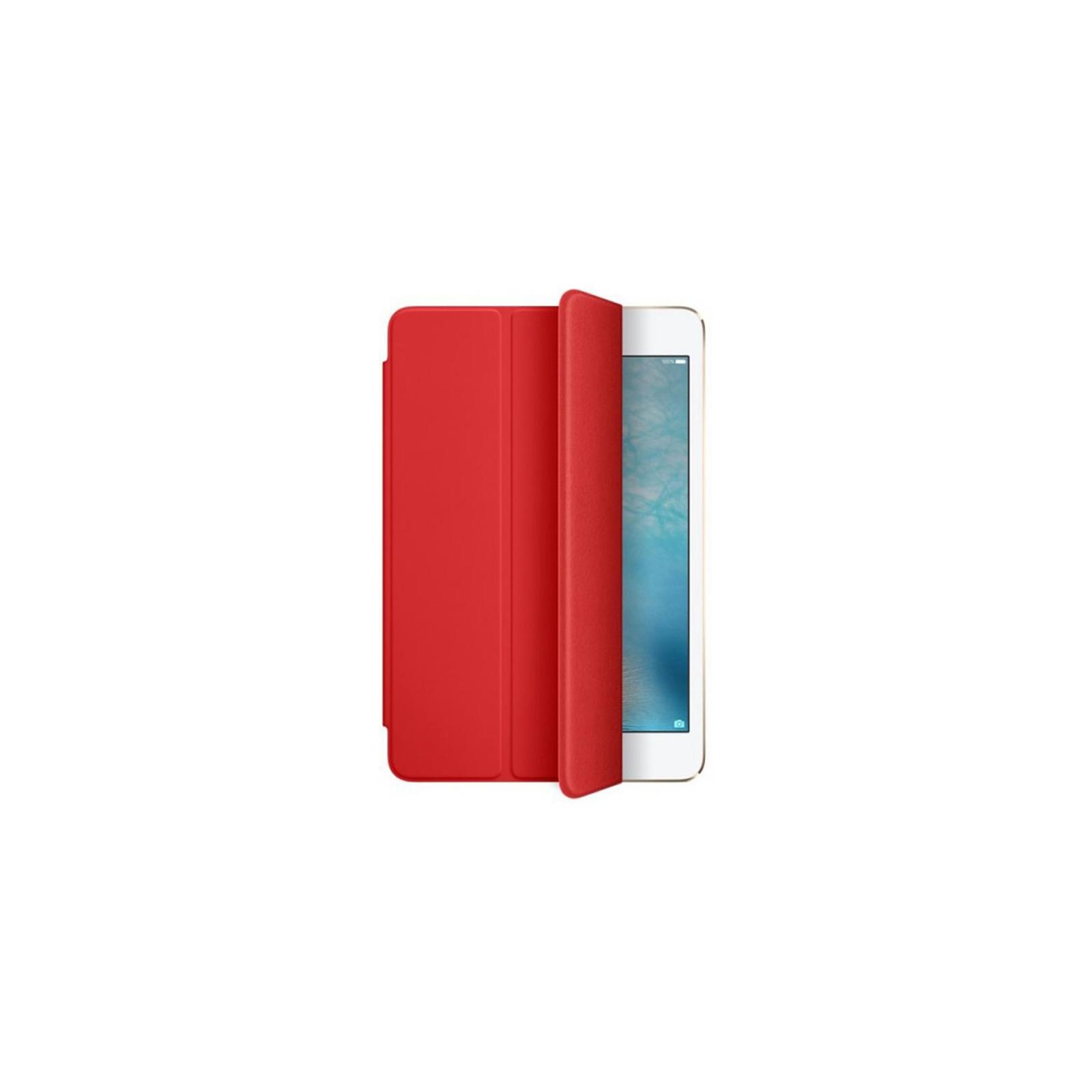 Чехол для планшета Apple Smart Cover для iPad mini 4 Red (MKLY2ZM/A) изображение 3