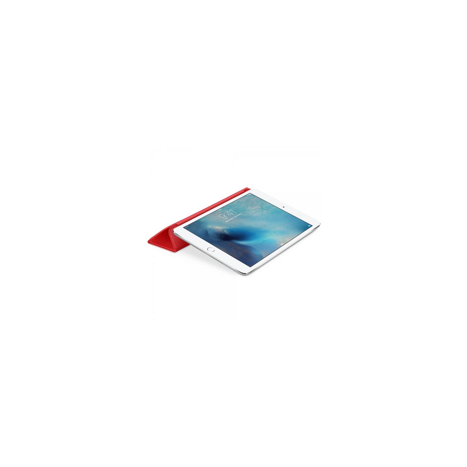 Чехол для планшета Apple Smart Cover для iPad mini 4 Red (MKLY2ZM/A) изображение 4