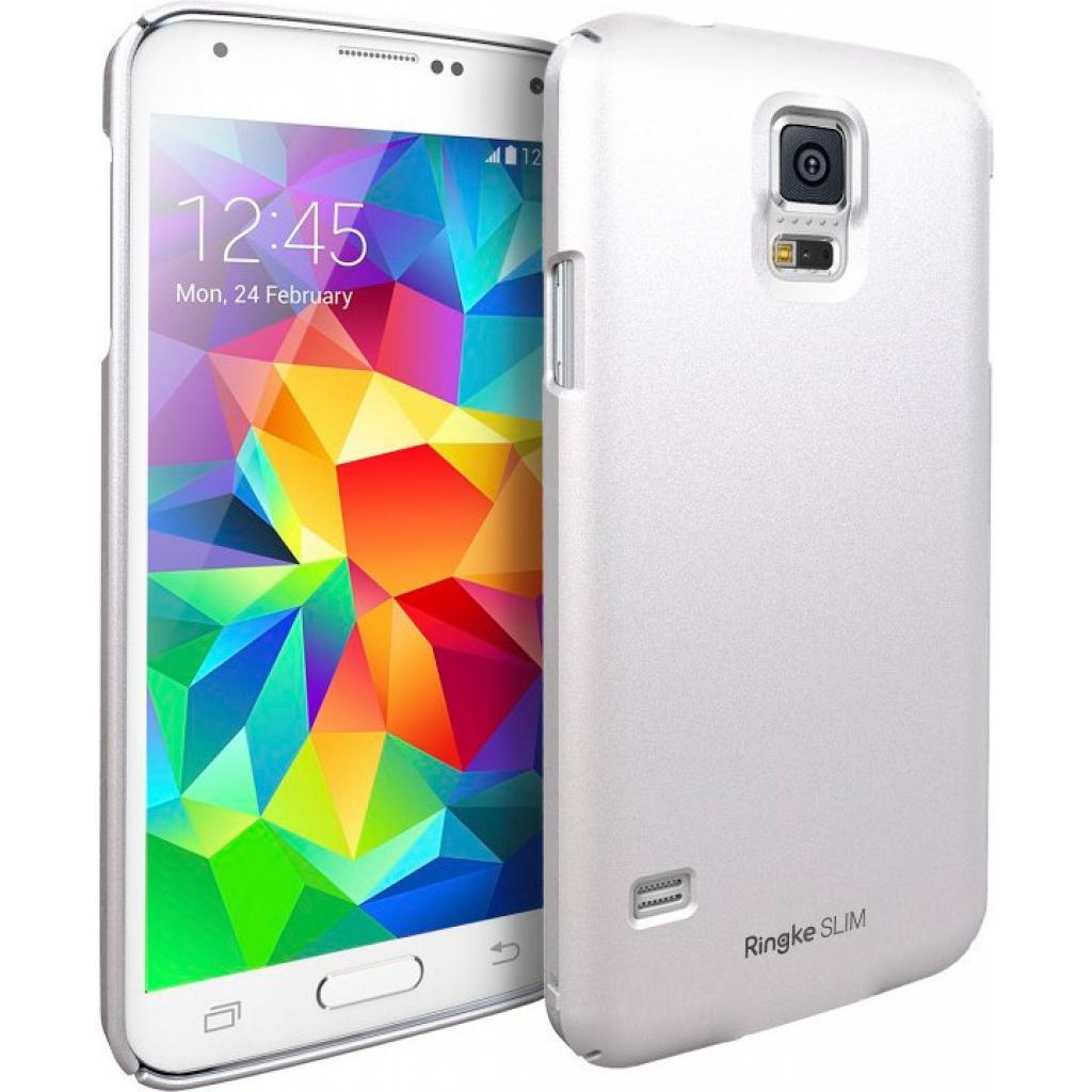 Чехол для моб. телефона Ringke SLIM для Samsung Galaxy S5 (Pearl White) (156797) изображение 2