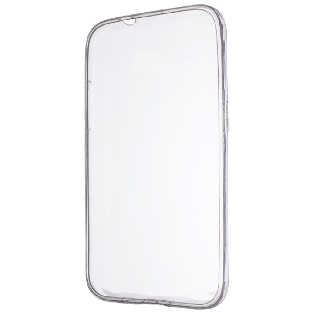 Чехол для моб. телефона Drobak Elastic PU для Samsung Galaxy J1 mini J105H Duos White clear (212905)