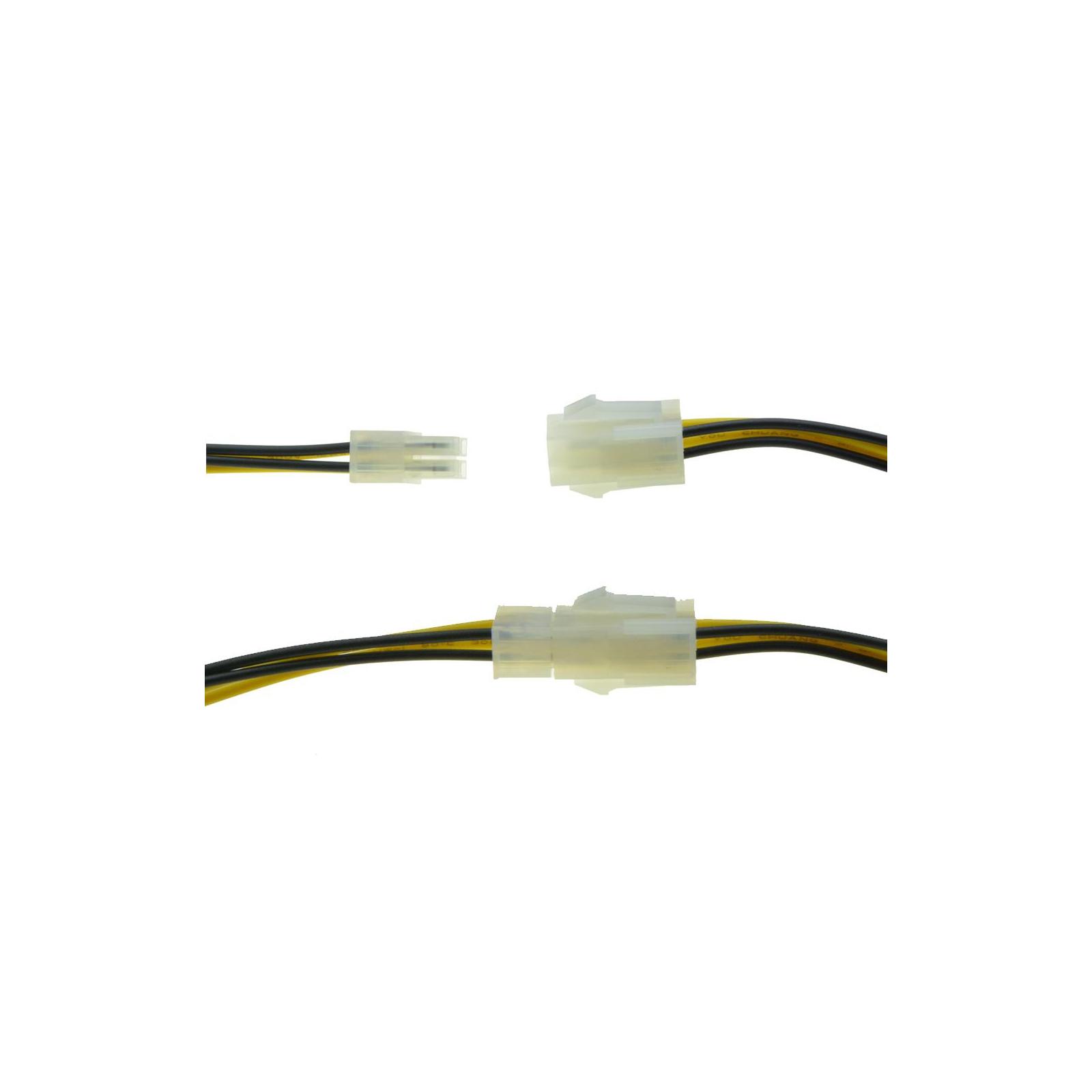 Сетевой удлинитель Cablexpert 4Pin питания ПРОЦЕССОРА (ATX 12 В P4) изображение 3