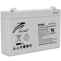 Батарея к ИБП Ritar AGM RT680, 6V-8Ah (RT680)