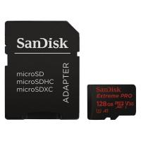 Карта памяти SANDISK 128GB microSD class 10 V30 A1 UHS-I U3 4K Extreme Pro (SDSQXCG-128G-GN6MA)