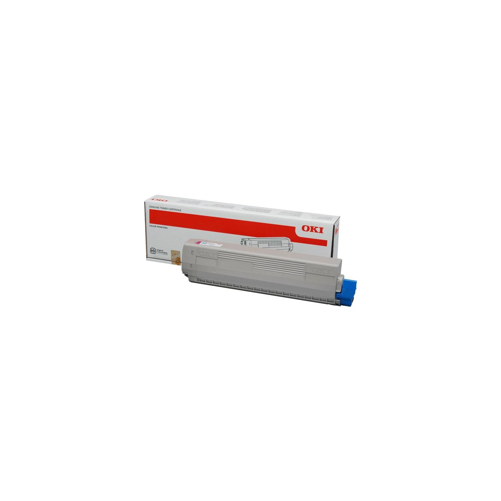 Тонер-картридж OKI C831/841 10K MAGENTA (44844506)