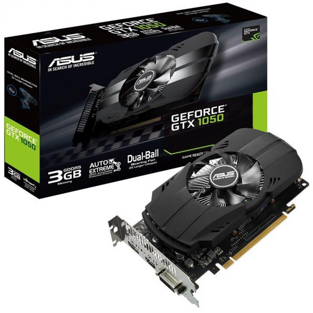 Видеокарта ASUS GeForce GTX1050 3072Mb Phoenix (PH-GTX1050-3G)