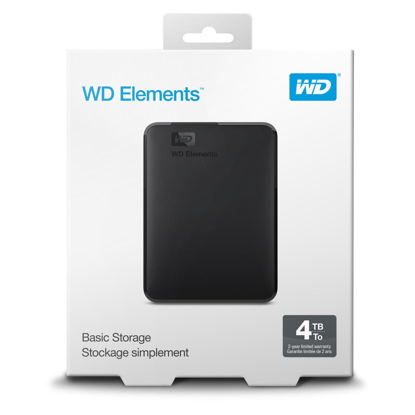 """Внешний жесткий диск 2.5"""" 500GB WD (WDBUZG5000ABK-WESN) изображение 7"""