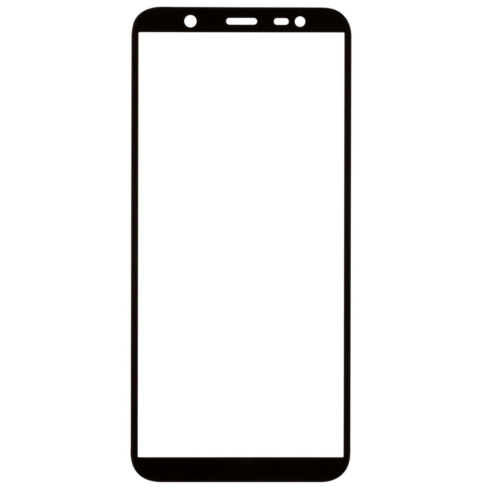 Стекло защитное MakeFuture для Samsung J8 2018 Black Full Cover Full Glue (MGFCFG-SJ818B) изображение 3