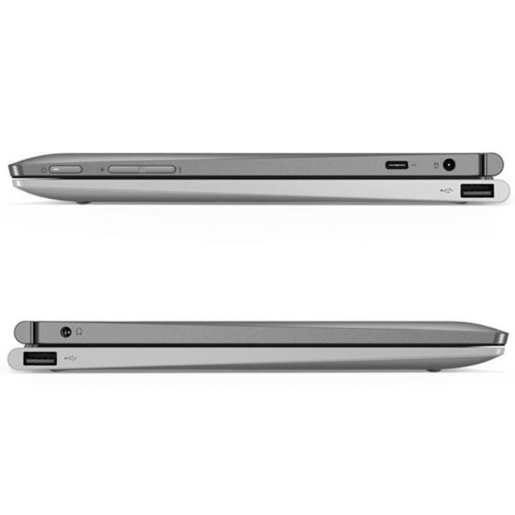 "Планшет Lenovo Ideapad D330-10IGM 10.1"" FHD N5000 4/128 Win10H Mineral Grey (81H3001LRA) изображение 4"