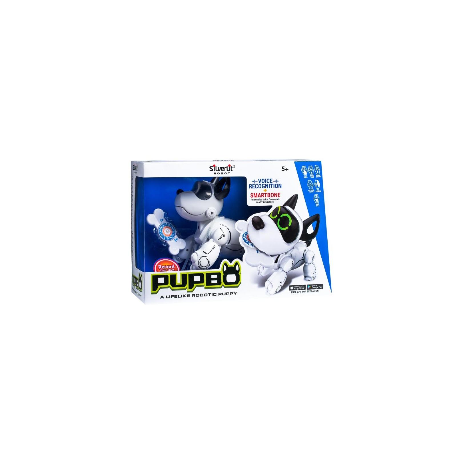 Интерактивная игрушка Silverlit собака-робот PUPBO (88520) изображение 6