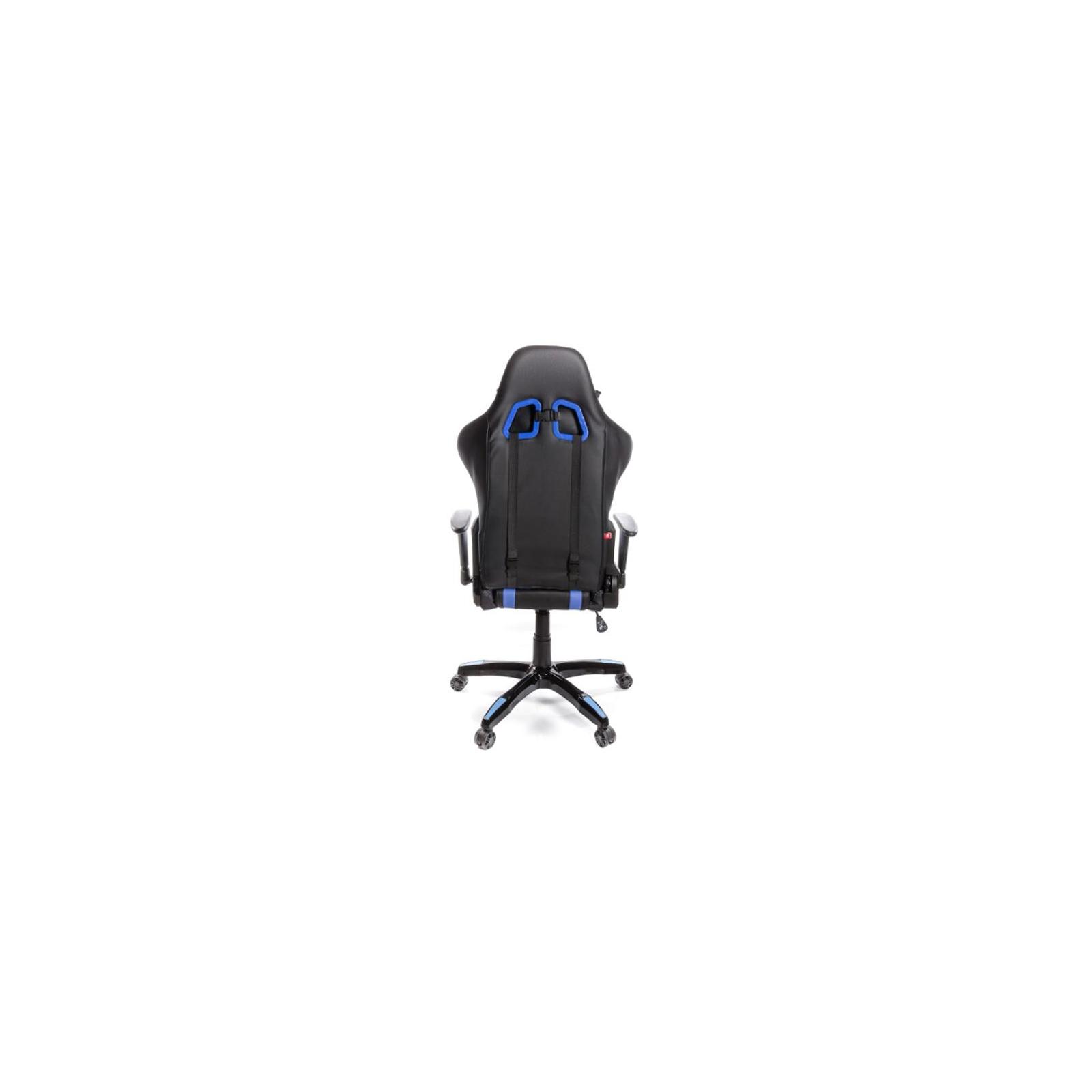 Кресло игровое АКЛАС Стрик PL RL Синее (06151) изображение 4