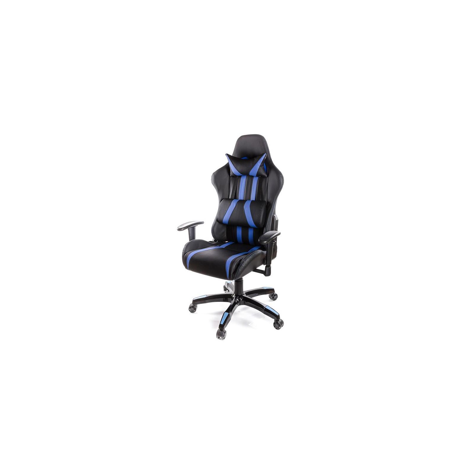 Кресло игровое АКЛАС Стрик PL RL Синее (06151)