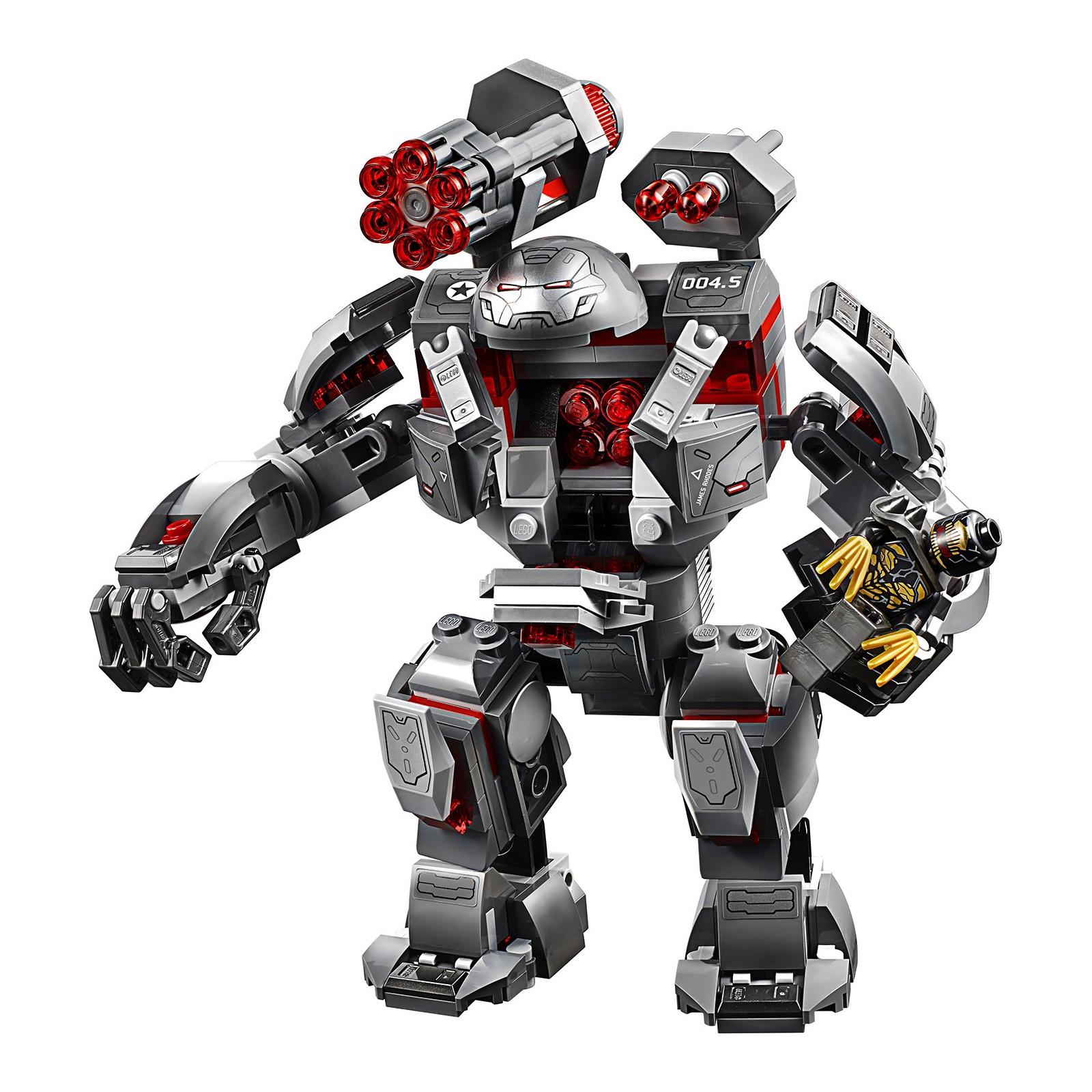 Конструктор LEGO Super Heroes Marvel Comics Воитель 362 детали (76124) изображение 3
