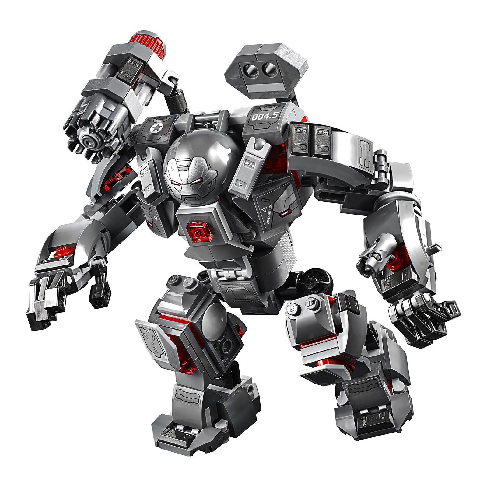 Конструктор LEGO Super Heroes Marvel Comics Воитель 362 детали (76124) изображение 4