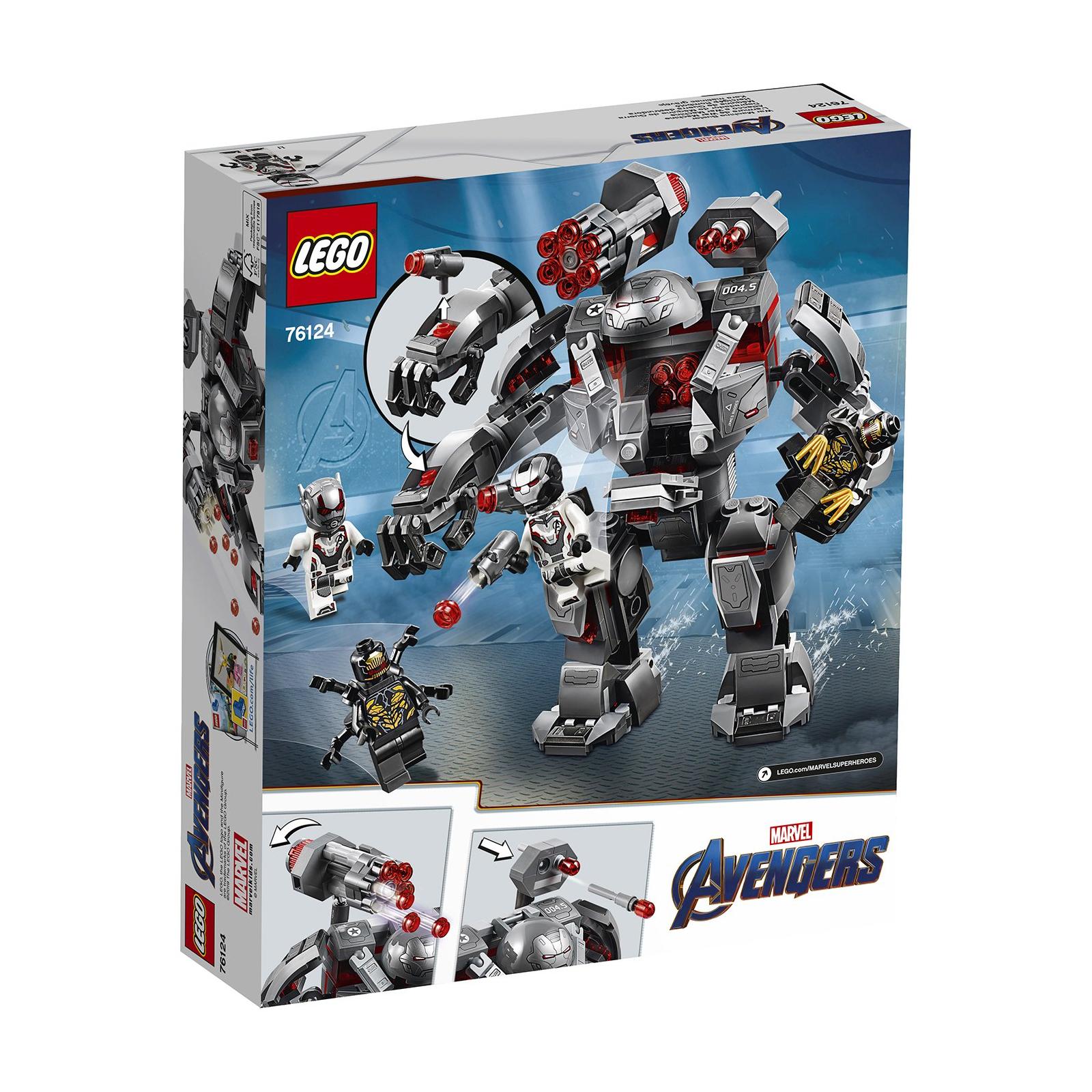 Конструктор LEGO Super Heroes Marvel Comics Воитель 362 детали (76124) изображение 9