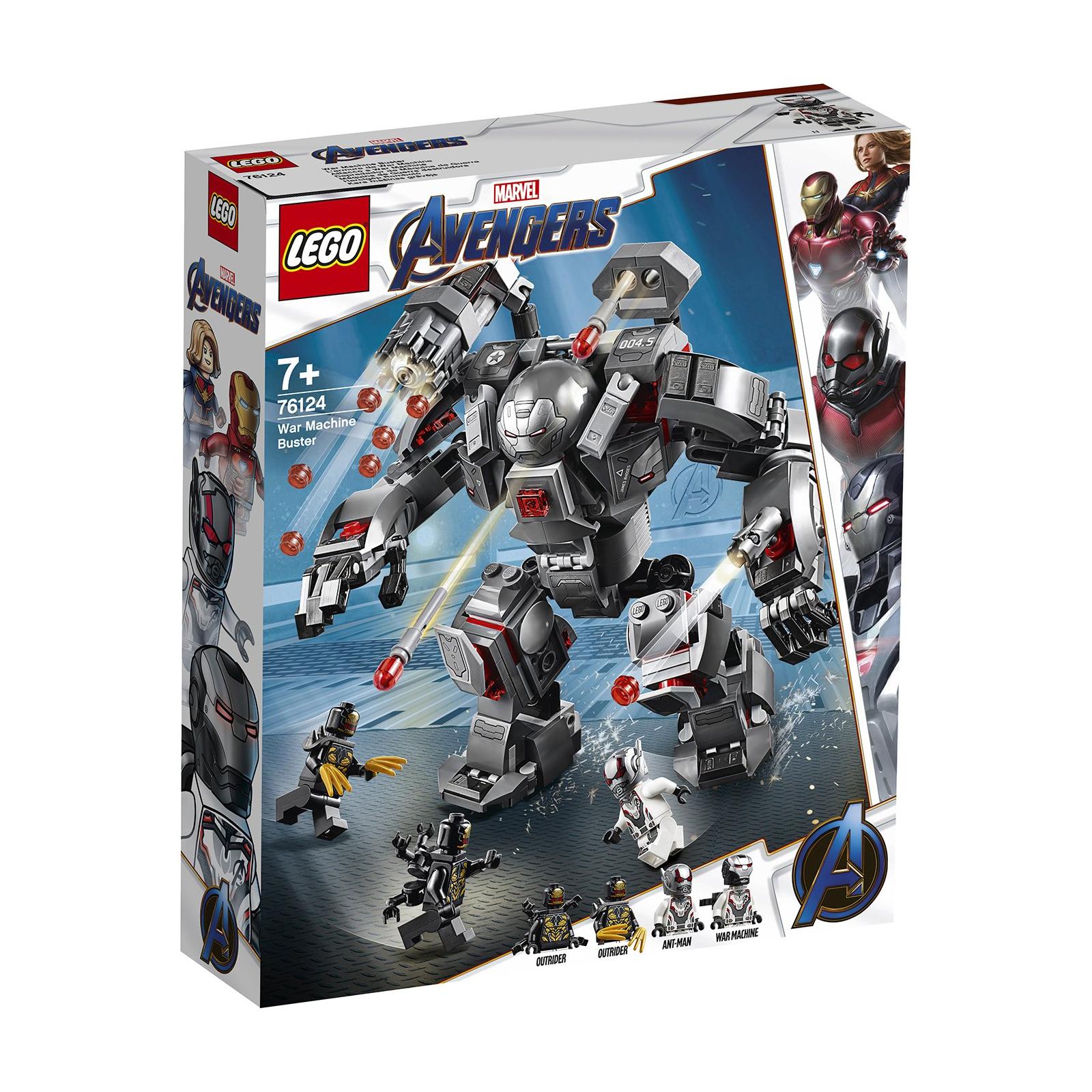 Конструктор LEGO Super Heroes Marvel Comics Воитель 362 детали (76124)