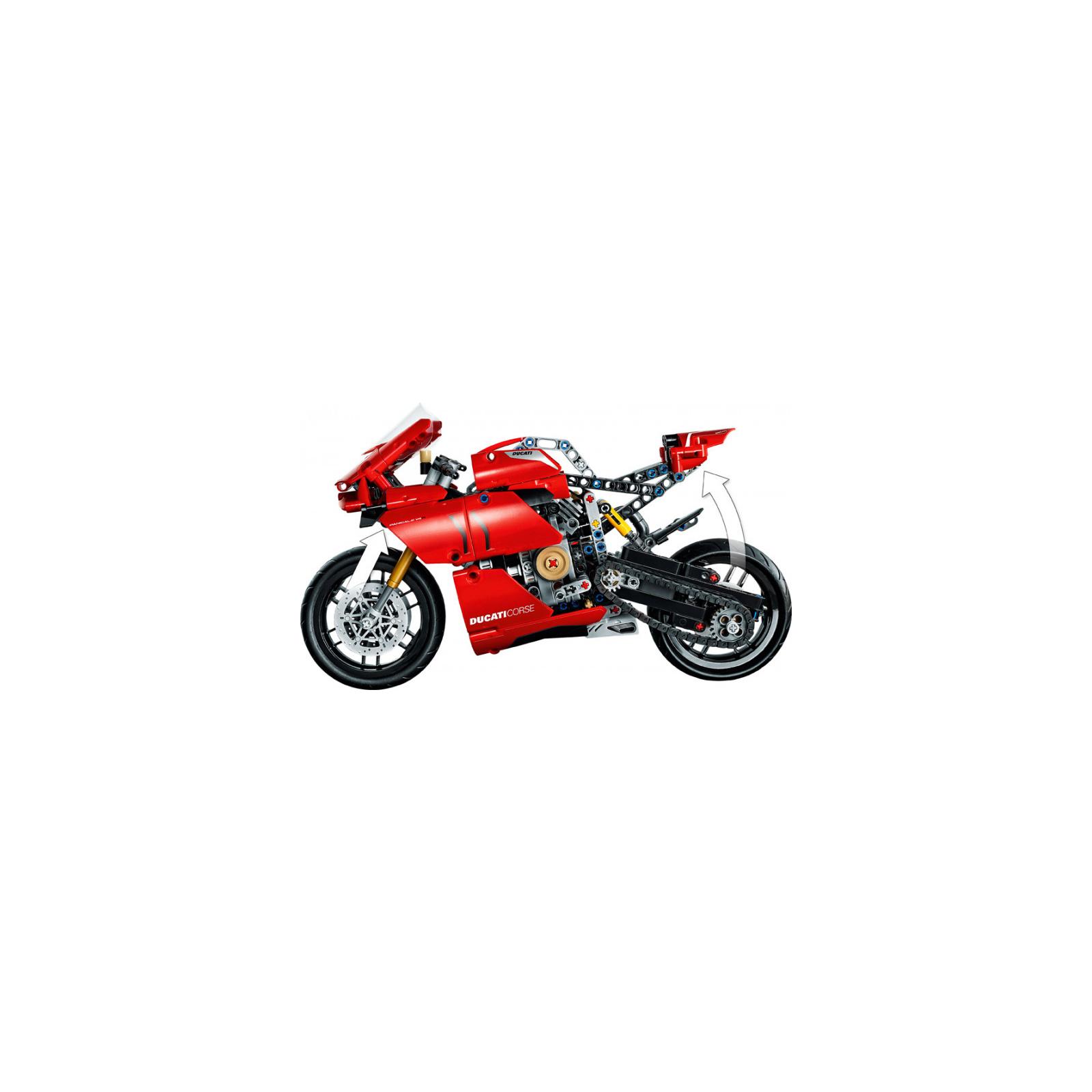 Конструктор LEGO Technic Ducati Panigale V4 R 0 646 детали (42107) изображение 3