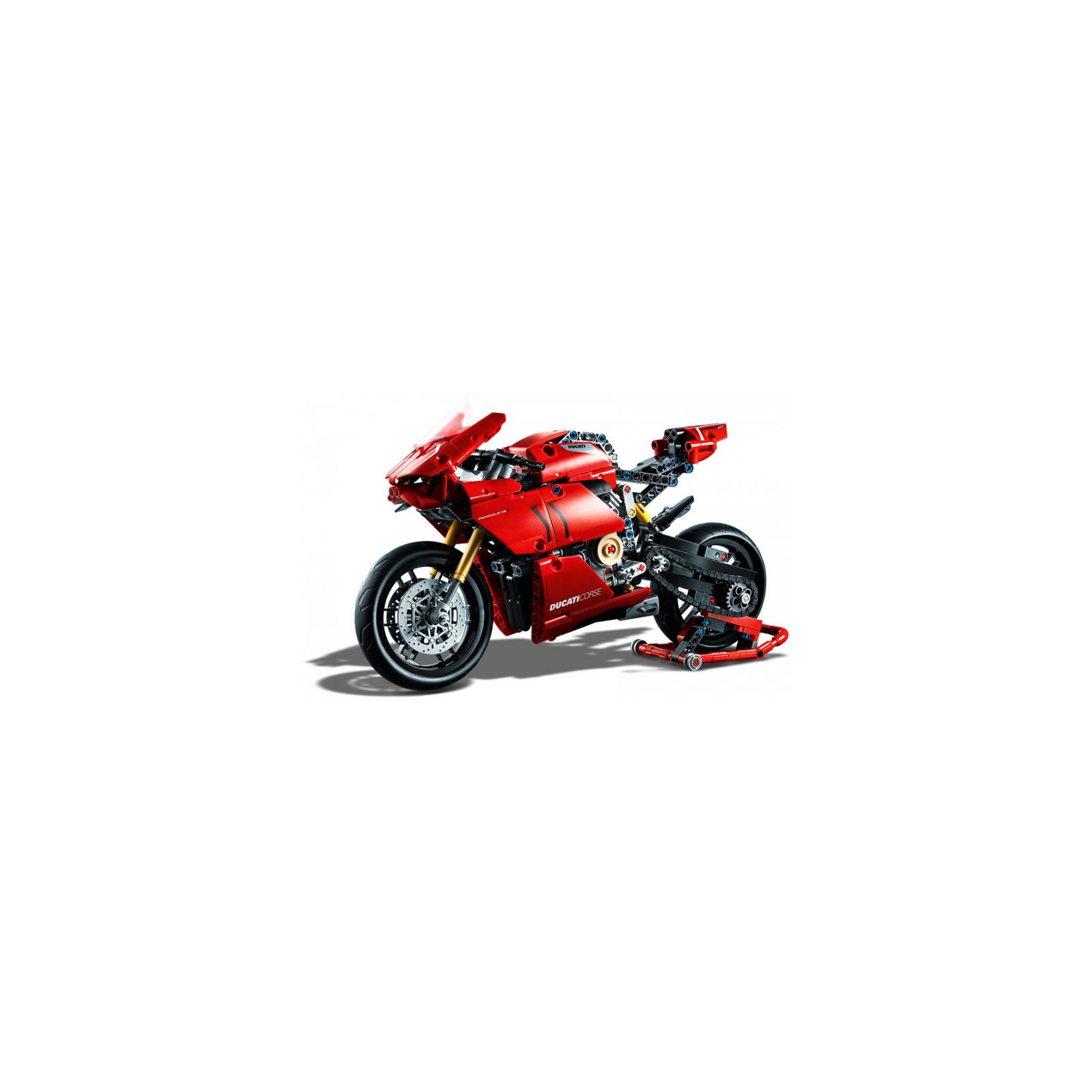 Конструктор LEGO Technic Ducati Panigale V4 R 0 646 детали (42107) изображение 4