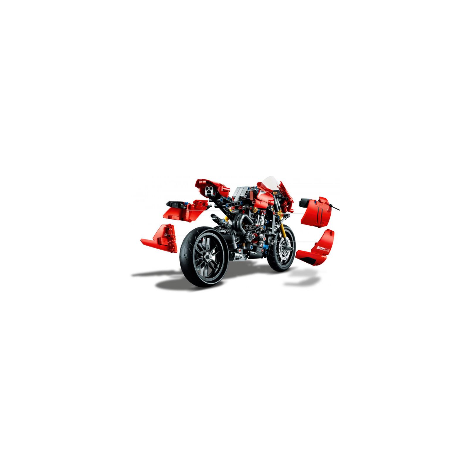 Конструктор LEGO Technic Ducati Panigale V4 R 0 646 детали (42107) изображение 5