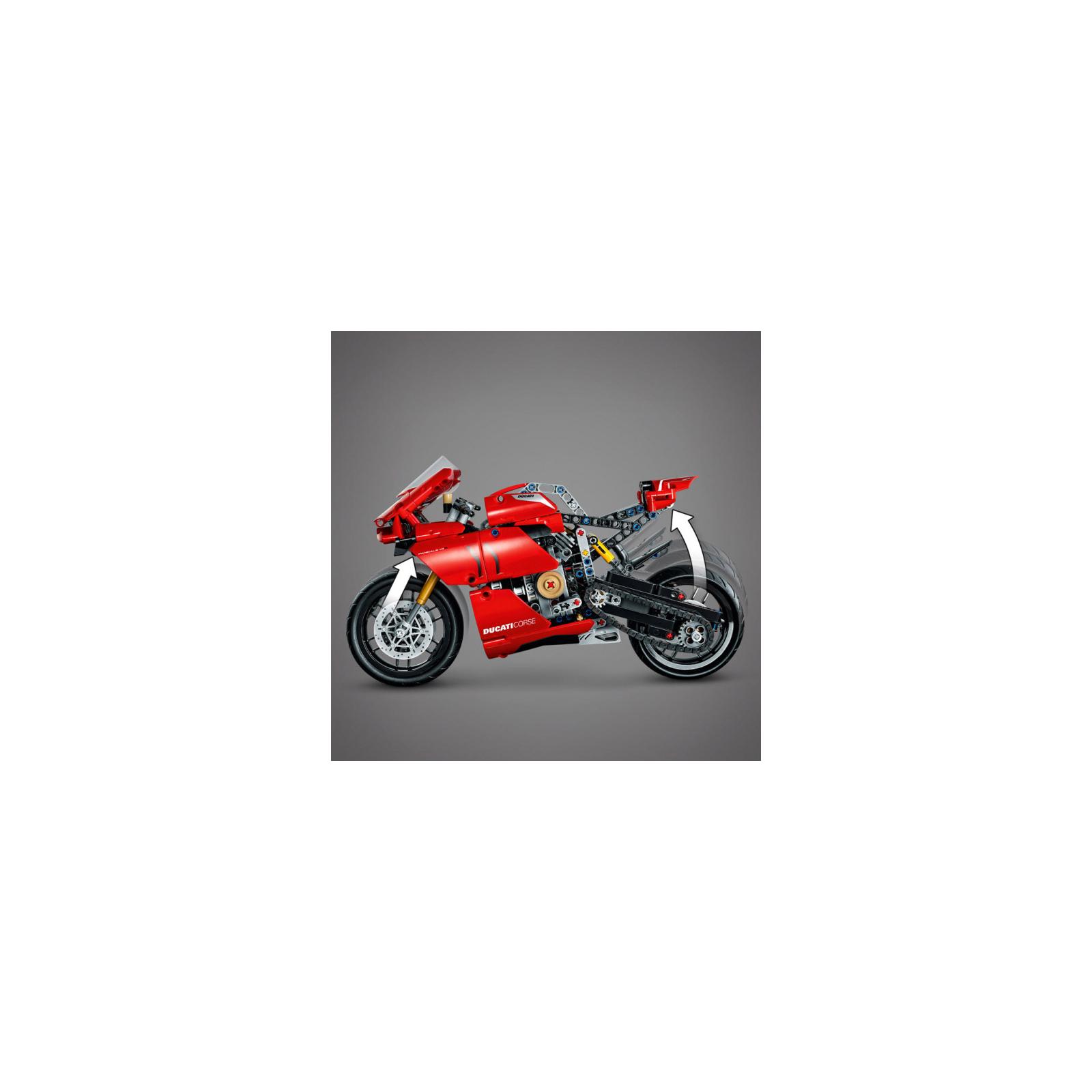 Конструктор LEGO Technic Ducati Panigale V4 R 0 646 детали (42107) изображение 7