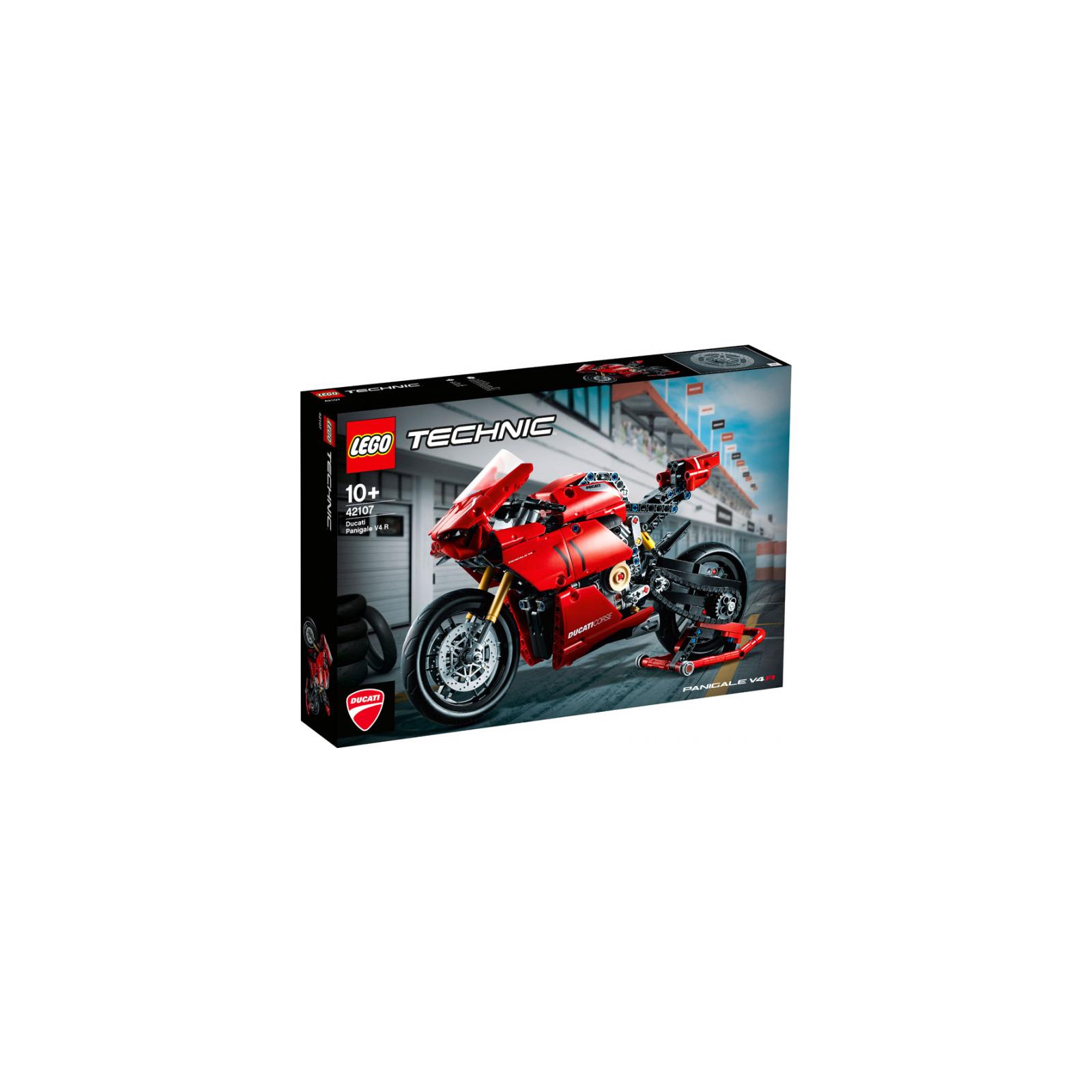 Конструктор LEGO Technic Ducati Panigale V4 R 0 646 детали (42107)