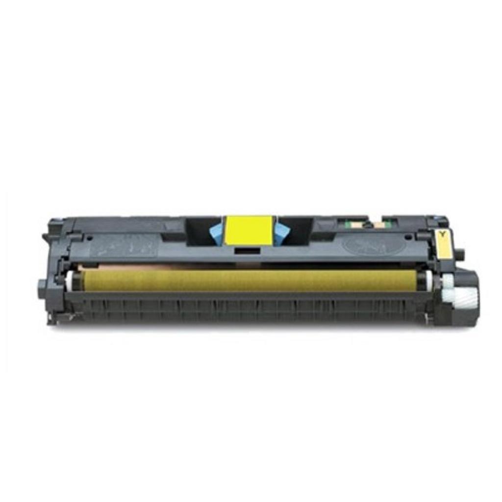 Картридж HP CLJ  122А для 2550 (4K) yellow (Q3962A)