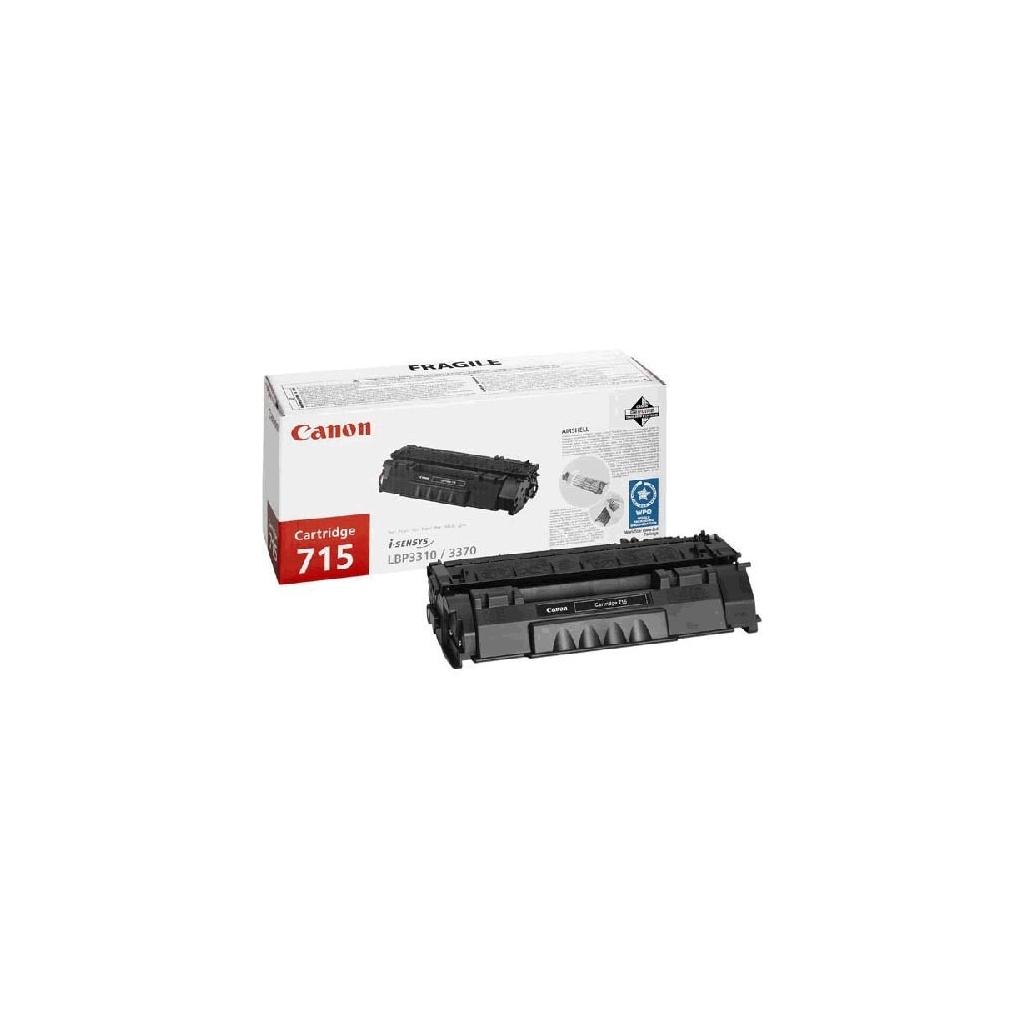 Картридж Canon 715 Black для LBP-3310/3370 (1975B002)